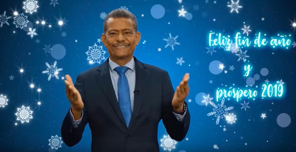 SALUDO DE FIN DE AÑO 2018 - PR. EDGAR REDONDO