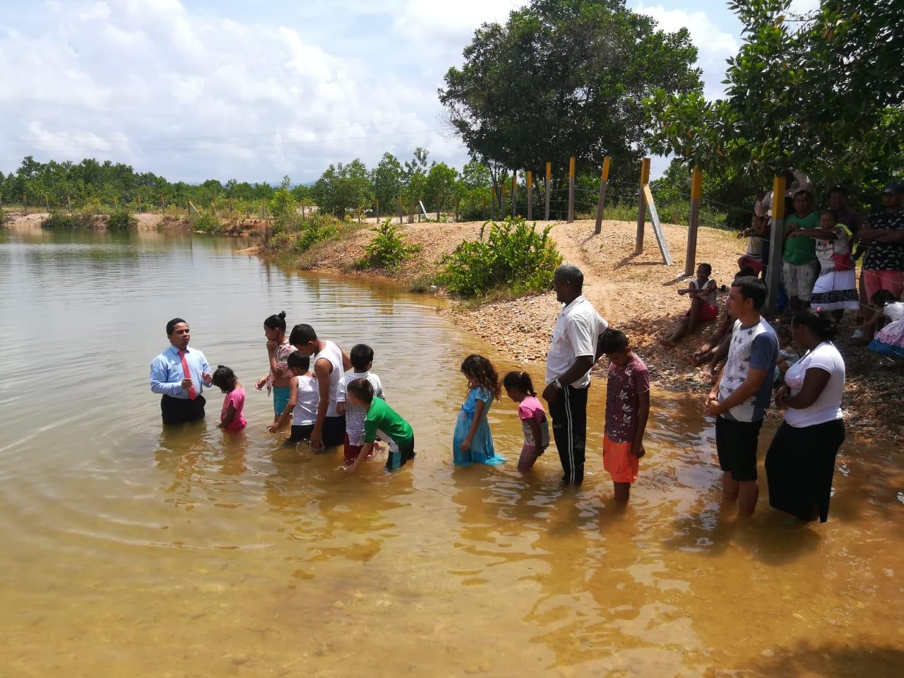 Iniciativa de Evangelismo  ASOCENTRO logra bautizar 2.830 almas en lo trascurrido del año 2019