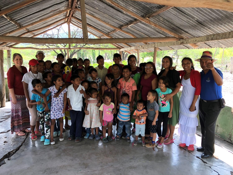 El departamento de infancia y adolescencia apoyó una jornada de servicio social en la Guajira