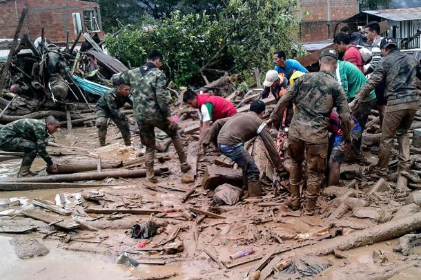 ADRA Colombia se moviliza para ayudar en tragedia en Mocoa