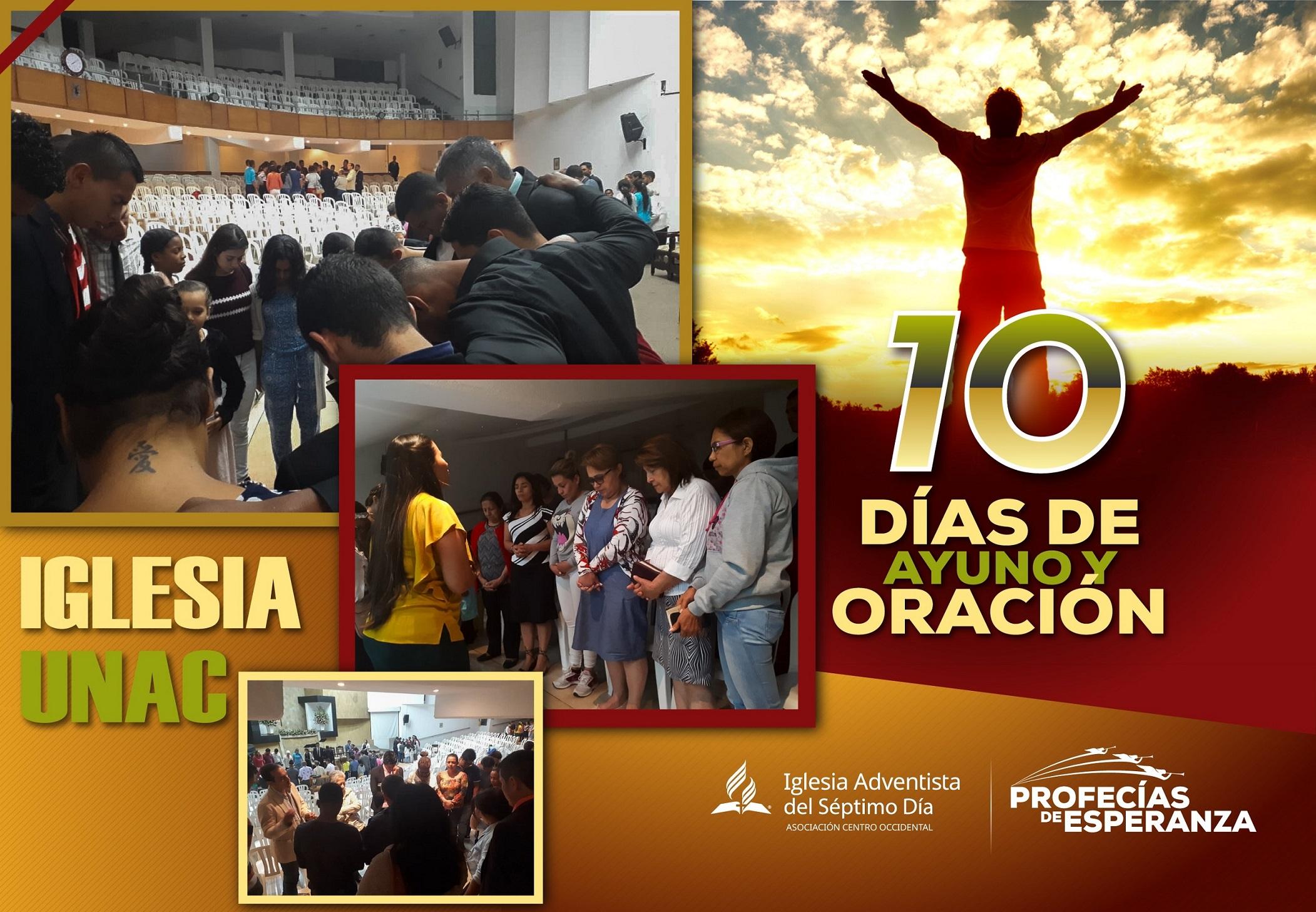 """""""Ayuno de Televisión"""" - 10 Días de Oración ASOCENTRO"""