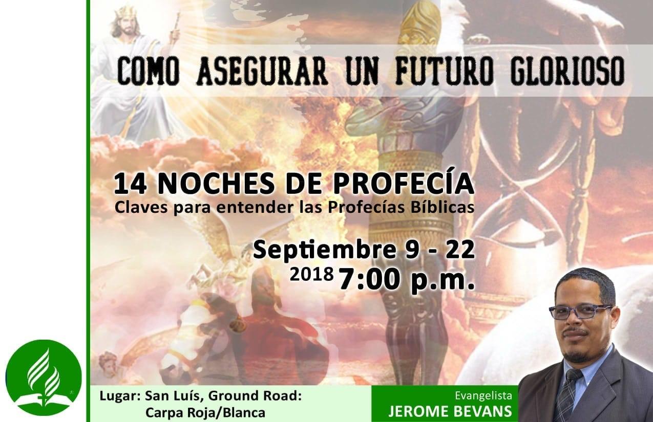 Campaña Evangelistica Distrito Sur con el Pastor Jerome Bevans