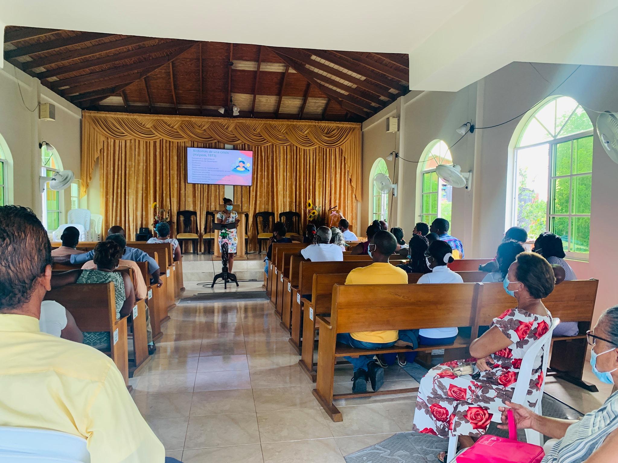 Miembros de iglesia en Providencia vuelven a templos habilitados y continúan con su misión evangelizadora