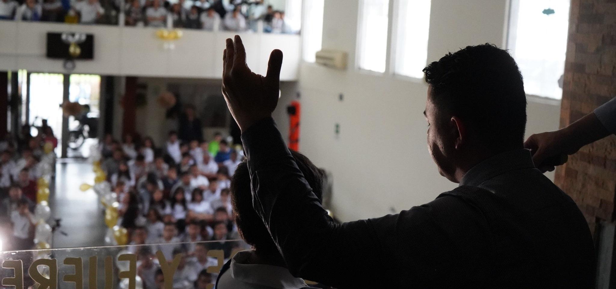 Histórico cierre de campaña estudiantil en el Colegio Adventista Simón Bolivar en Medellín