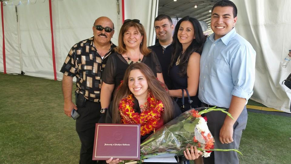 Jen BouLahoud, Family, and Friends