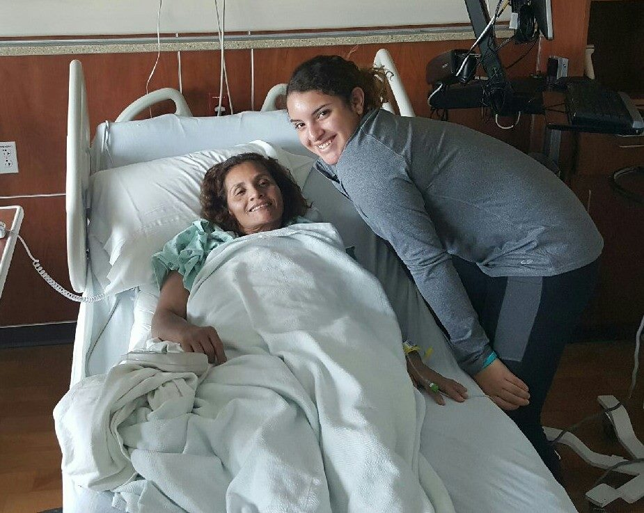 Maria Liver Transplant-recovery