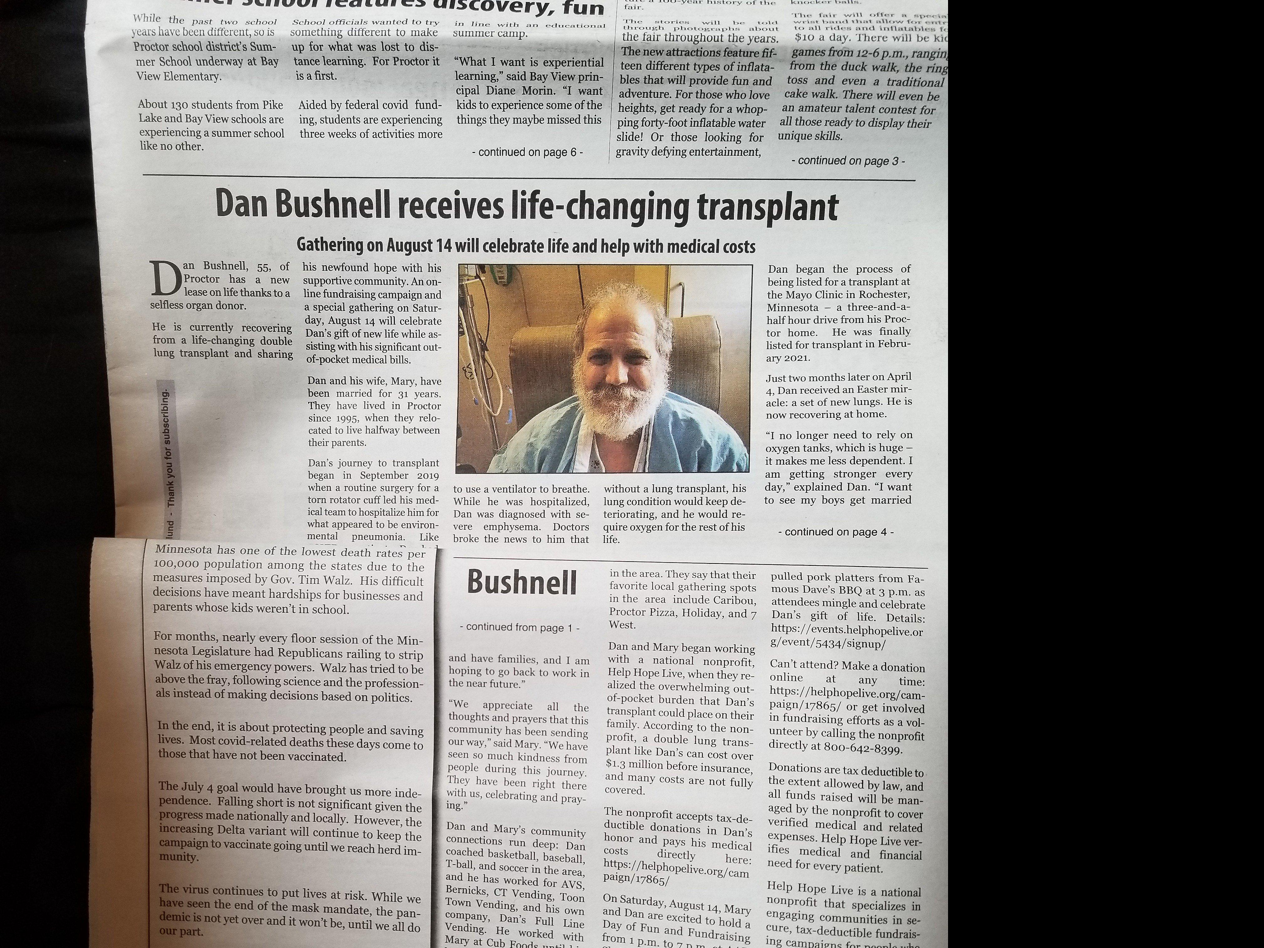 Press Coverage!