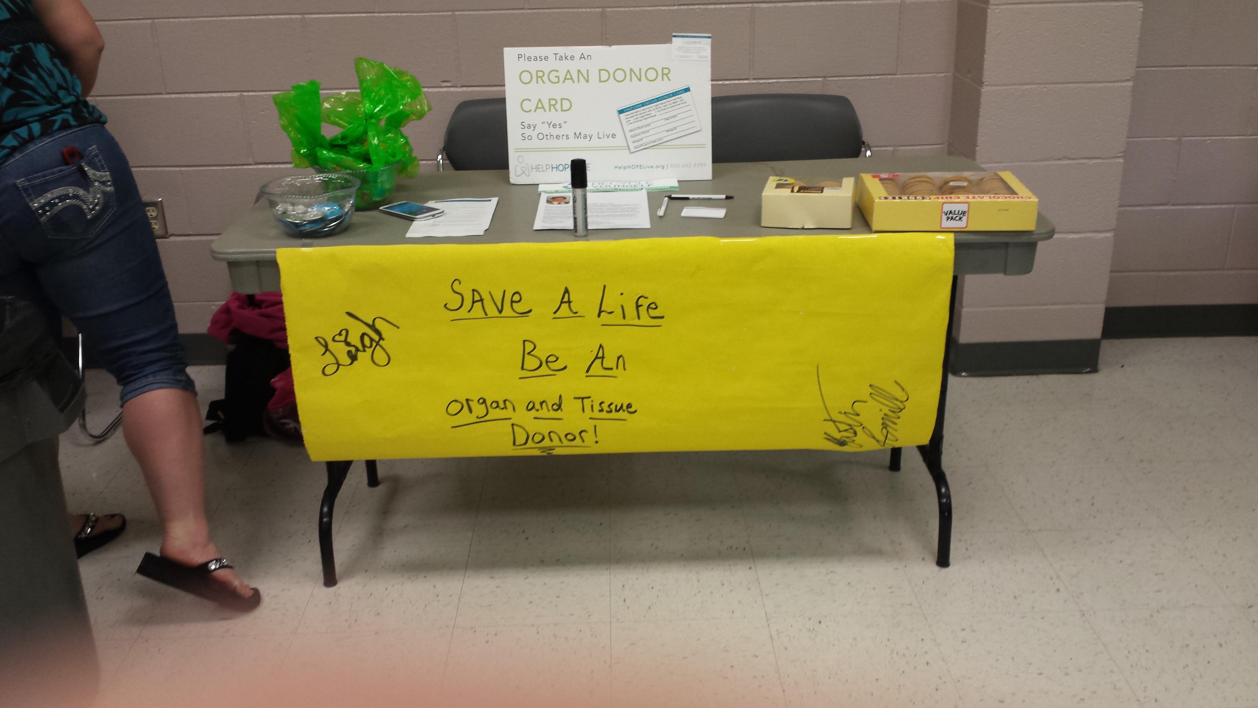 Fundraiser/Organ Donor Awareness