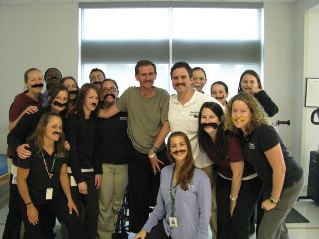 Matt's Awesome Recovery (and Moustache)
