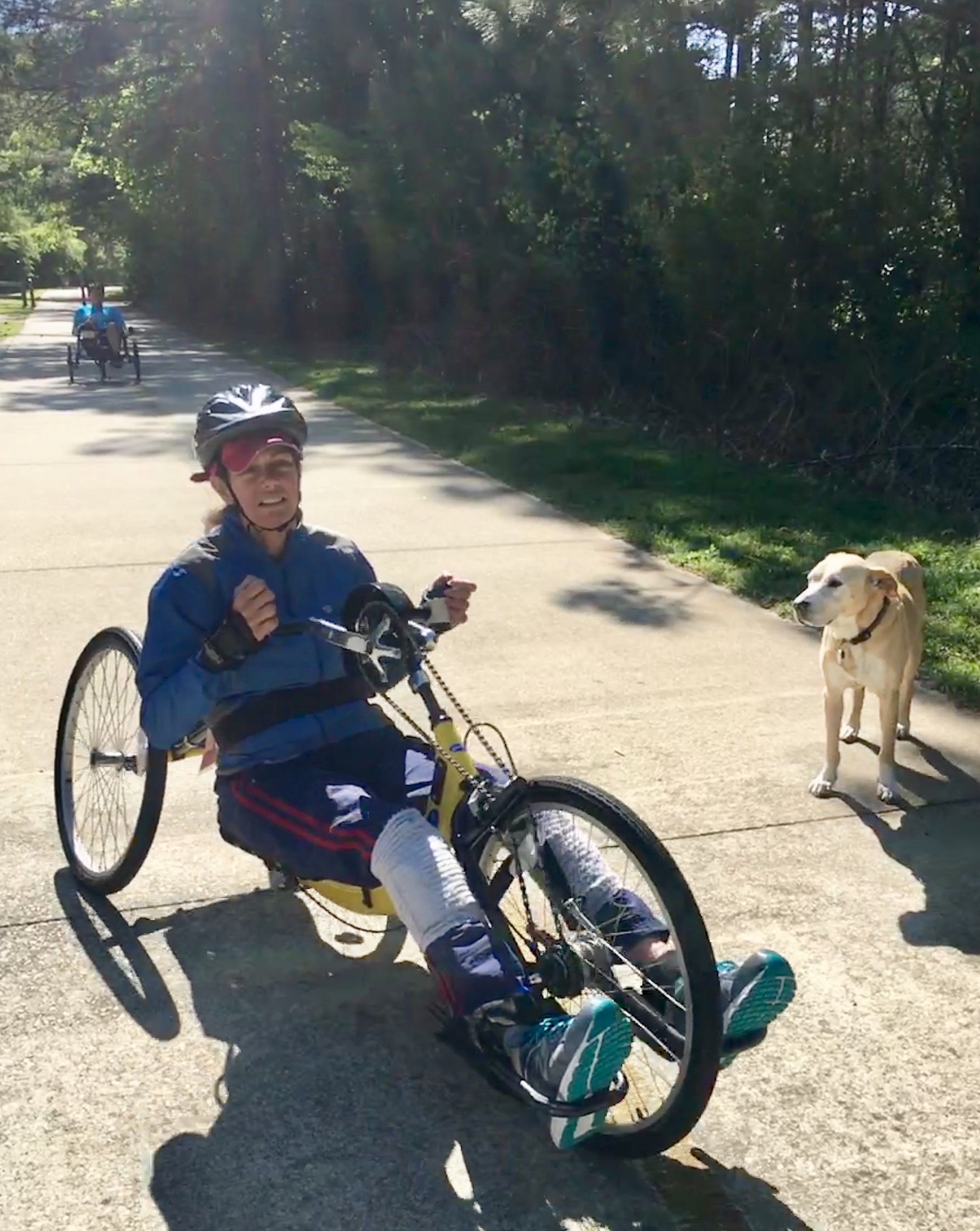 LF Hand Cycling at Silver Comet Trail.