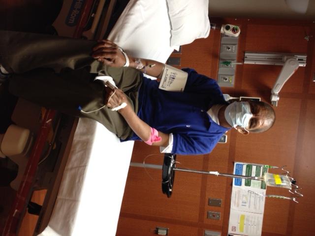 Joe in the hospital