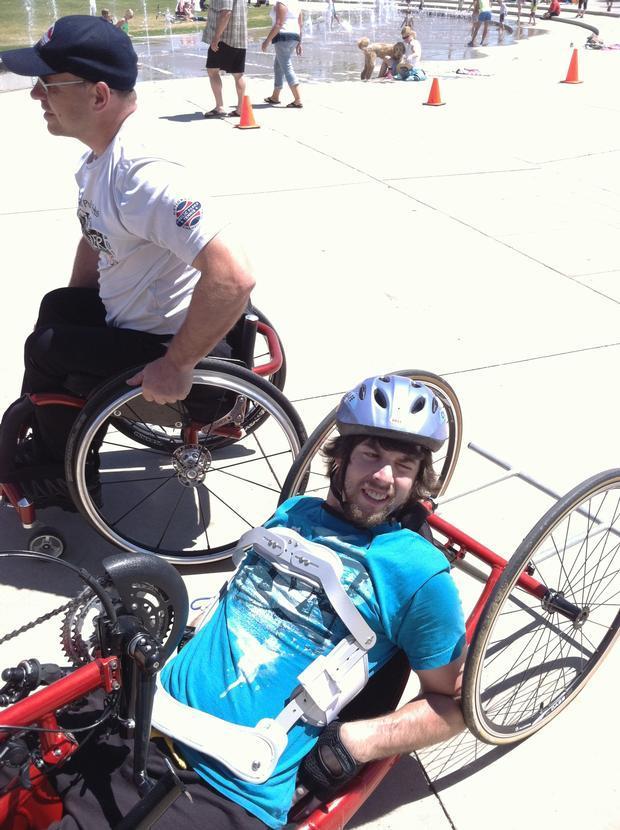 Bike outing with Craig Hospital