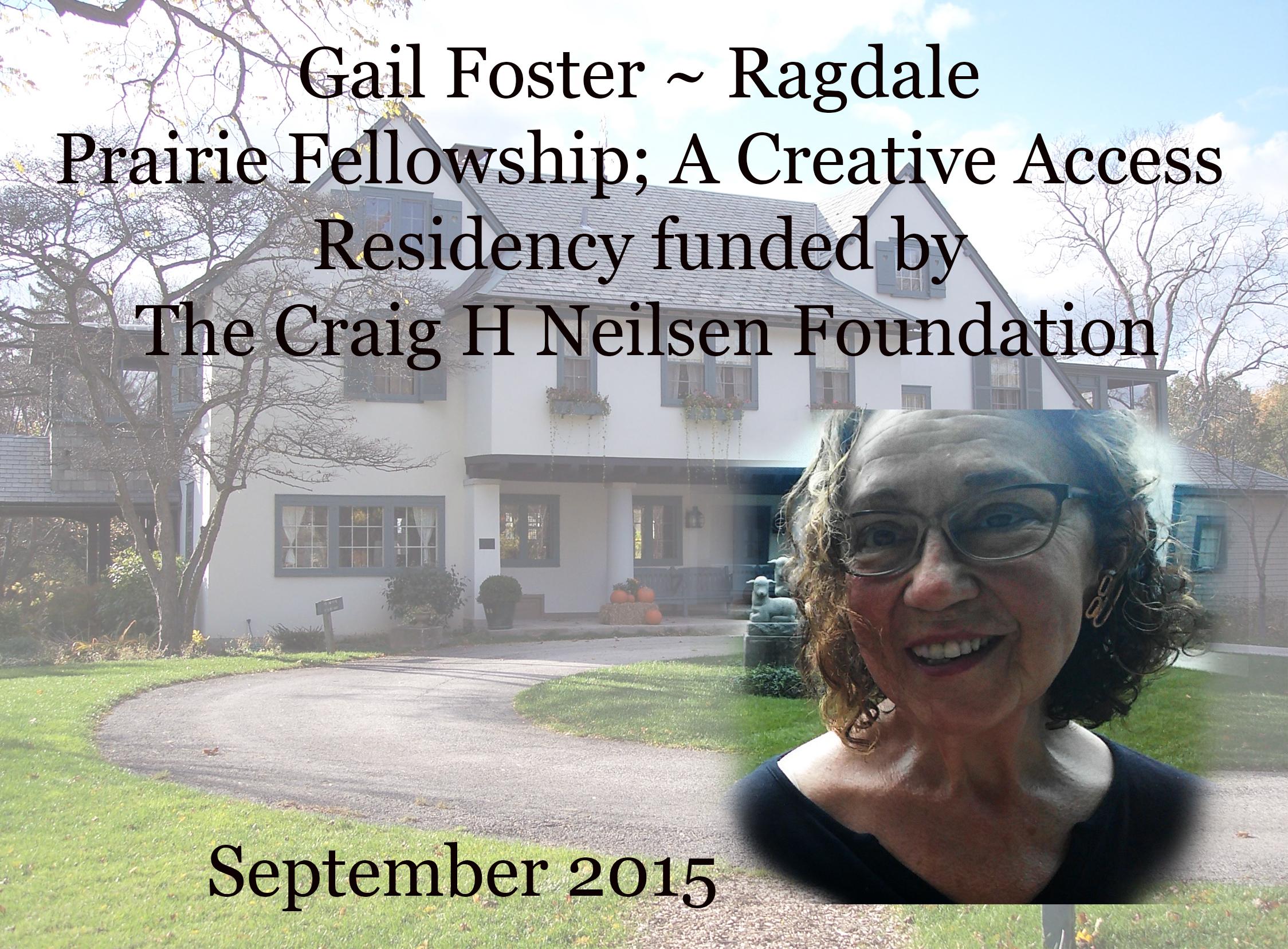 Creative Access Fellowship; Ragdale Artist Residency