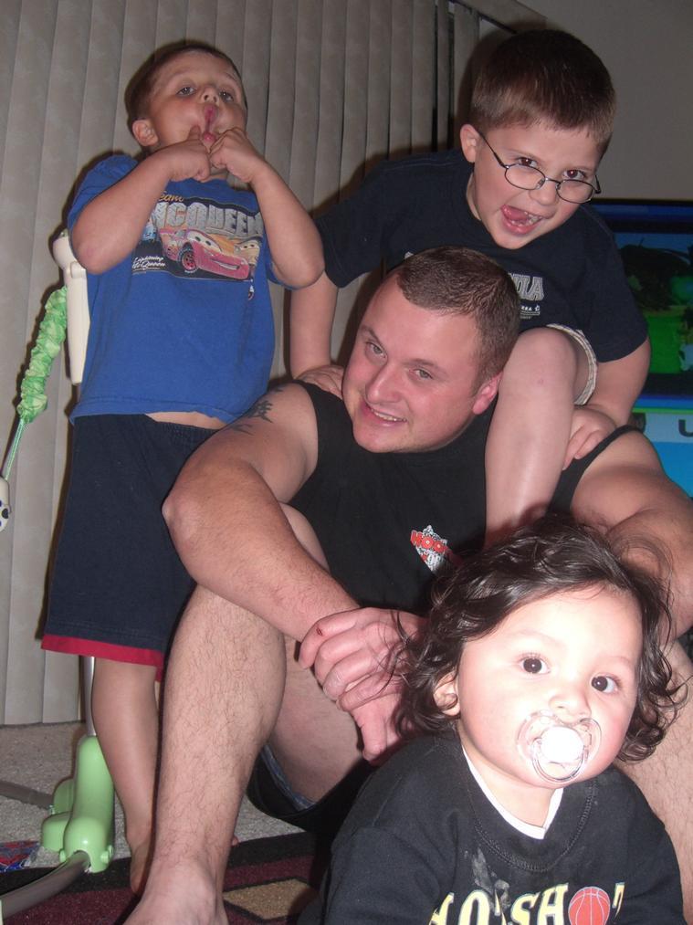 Keith and boys