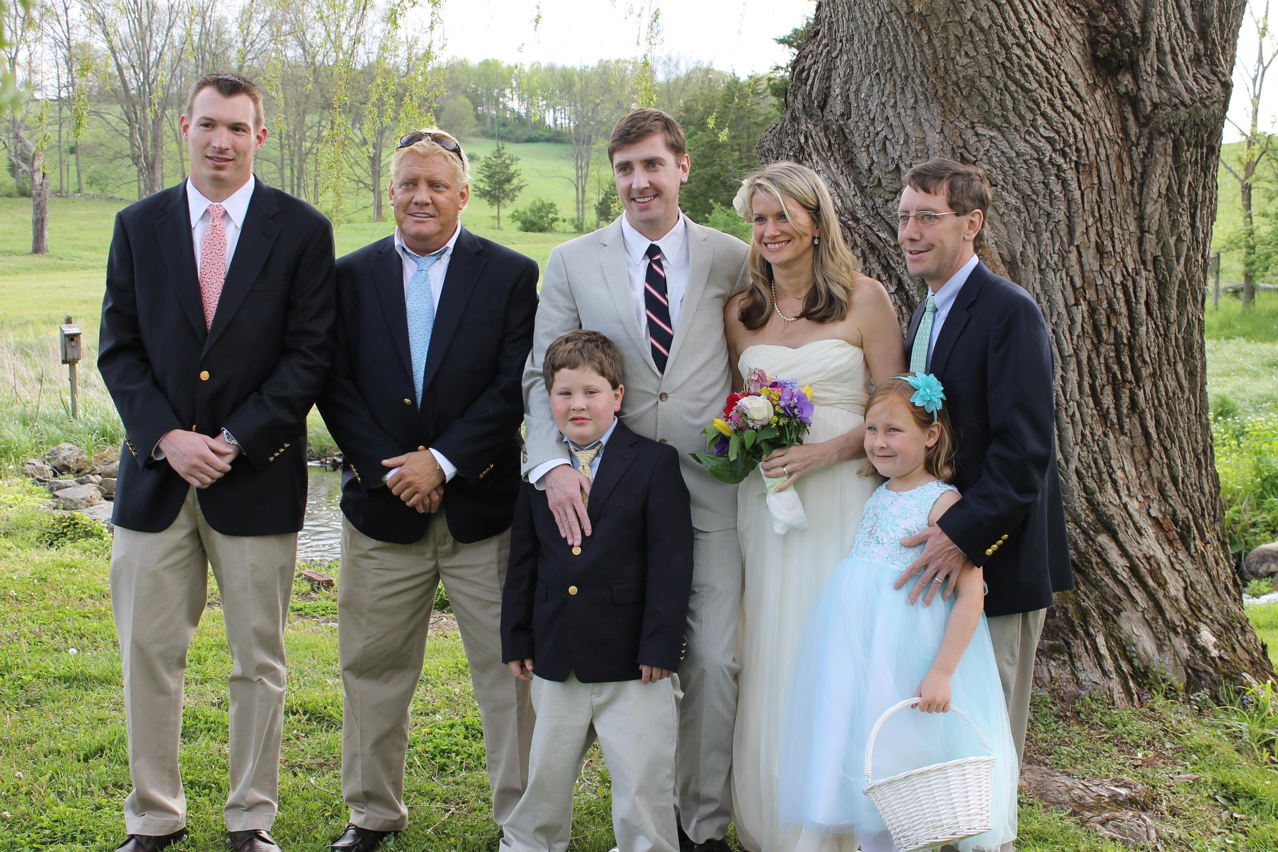 Trey with Cody and Mackenzie & brothers Brady, Kyle and Kasey