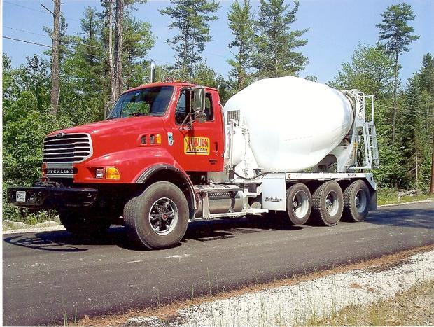 My cement truck when I used to work