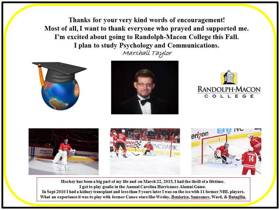 Graduation Letter