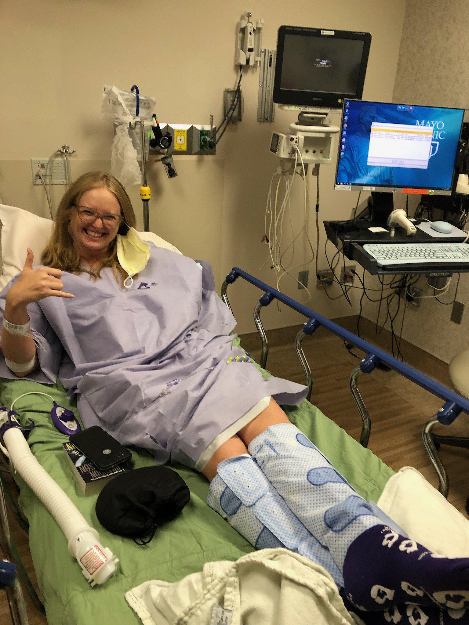 Transplant at Mayo