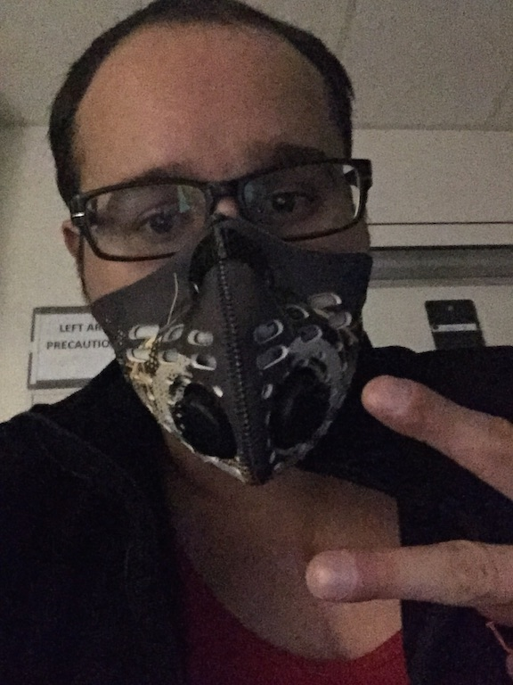 New Mask is in for post Transplant so I don't get sick.