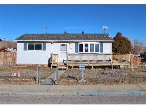 Photograph of 327 E Miller St, Rawlins, WY 82301