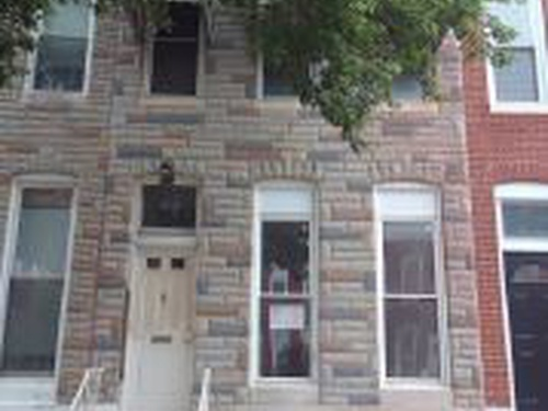 Photograph of 1516n Bond St, Baltimore, MD 21213