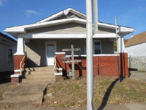 Photograph of 612 E Columbia St, Evansville, IN 47711