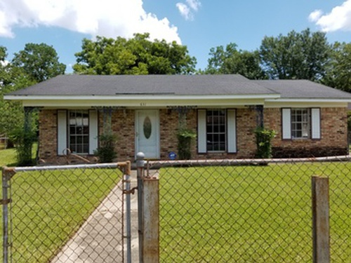 Photograph of 631 Hinson Ave, Prichard, AL 36610