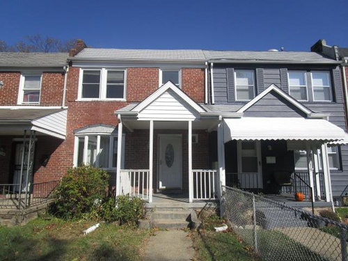 Photograph of 4221 Roland View Ave, Baltimore, MD 21215