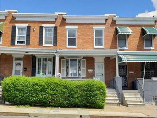 Photograph of 1205 N Linwood Ave, Baltimore, MD 21213