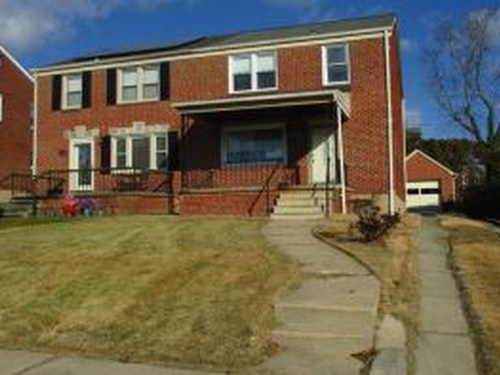 Photograph of 3526 E Northern Pkwy, Baltimore, MD 21206