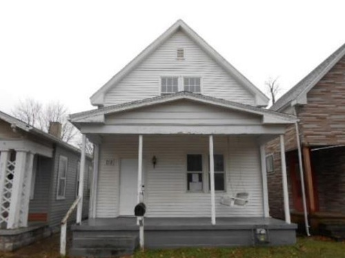 Photograph of 713 E Florida St, Evansville, IN 47711