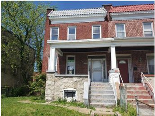 Photograph of 4002 W Rogers Ave, Baltimore, MD 21215