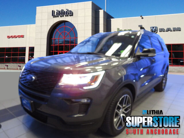used 2018 Ford Explorer car, priced at $39,900
