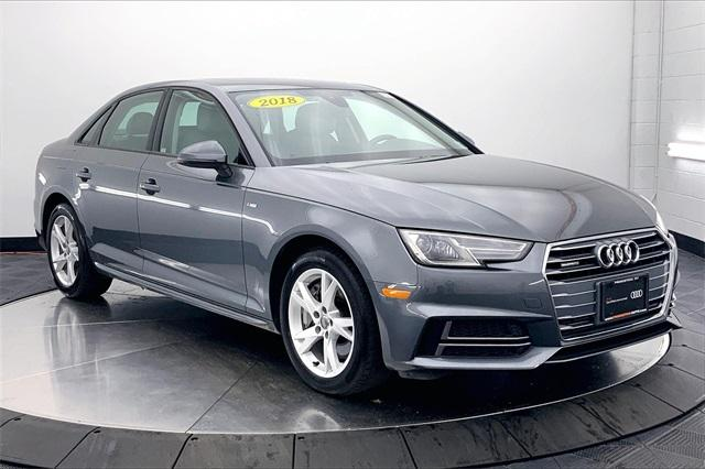 used 2018 Audi A4 car, priced at $32,998