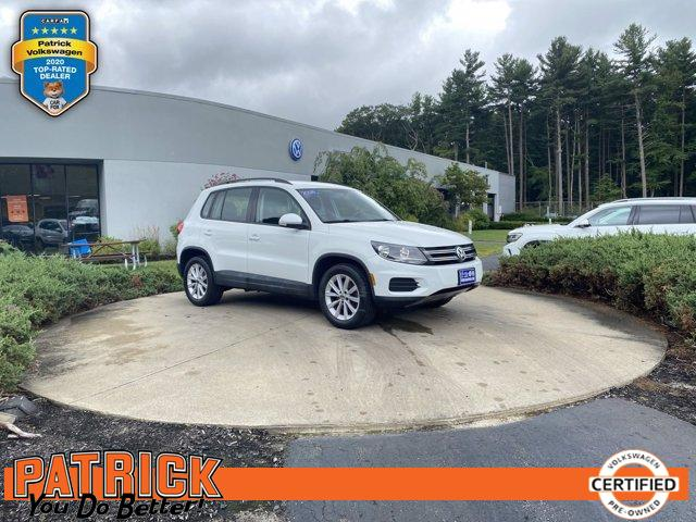 used 2018 Volkswagen Tiguan Limited car, priced at $23,900