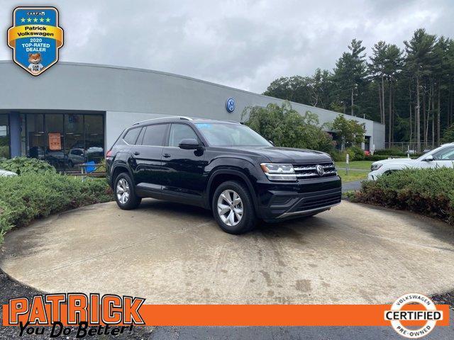 used 2019 Volkswagen Atlas car, priced at $35,500