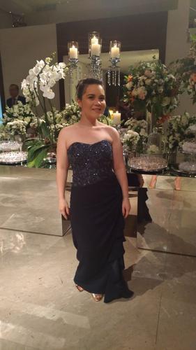 Meu vestido foi muito elogiado!!! TDS amaram