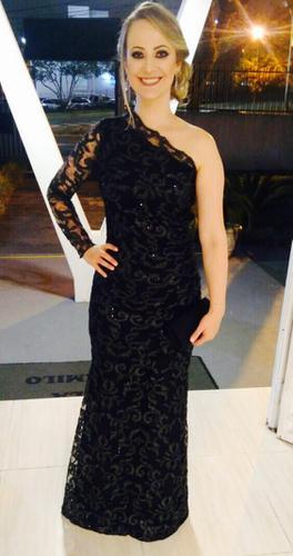 Adorei o vestido me senti lindíssima, obrigada Dress & Go