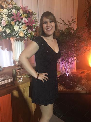 Amei o vestido, super confortável e lindo.