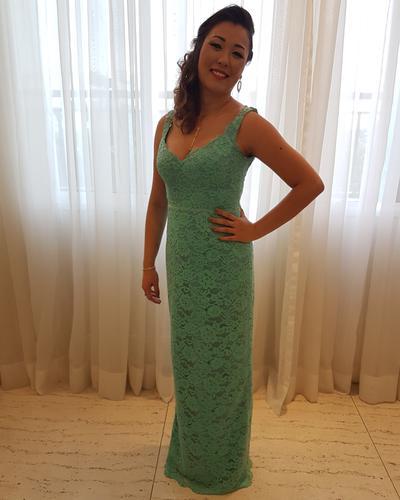 A entrega, o vestido, o evento foi tudo maravilhoso! Vocês foram nota 1000! :)