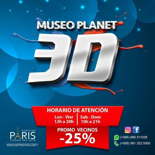 25% OFF Museu Planet 3D