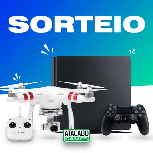 [SORTEIO PS4 + DRONE]