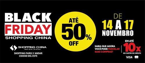 Black Friday Shopping China
