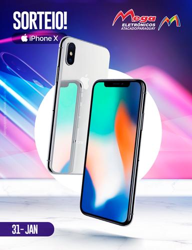 Comece o ano 2018 de iPhone X