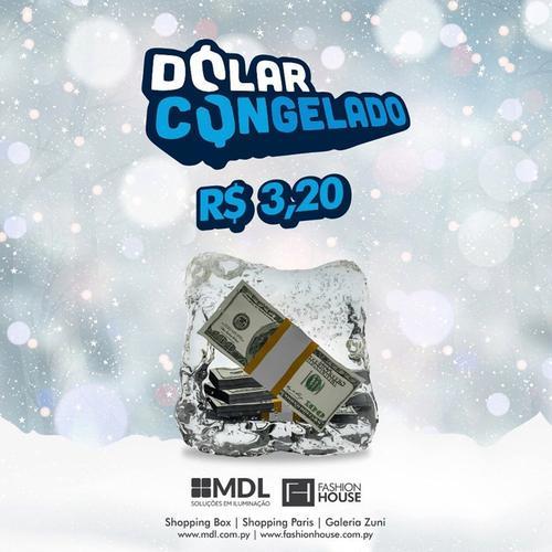 Dólar congelado