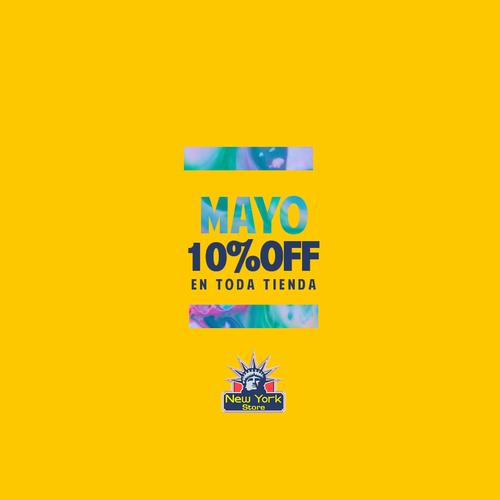Mayo 10% OFF