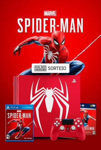 PLAYSTATION 4 PRO SPIDER-MAN
