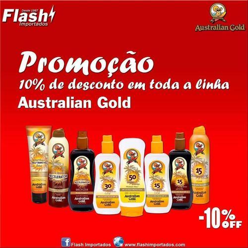 Promoção na linha Australian Gold