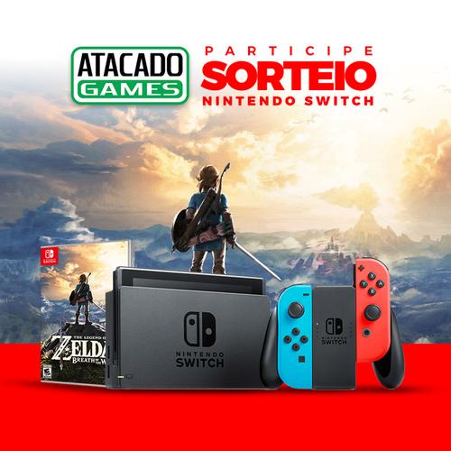 Sorteio do Nintendo Switch