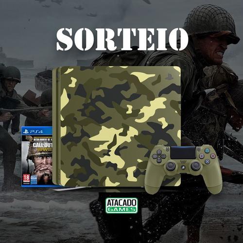 SORTEIO PS4